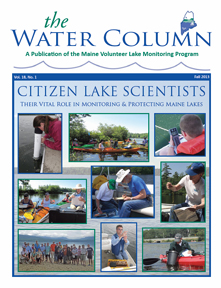 The Water Column Fall 2013 Cover