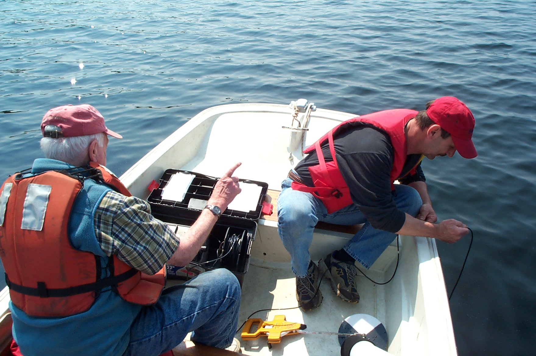Taking a Dissolved Oxygen Profile