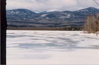 Silver Lake in Winter