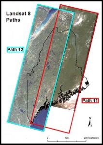 Landsat 8 Paths