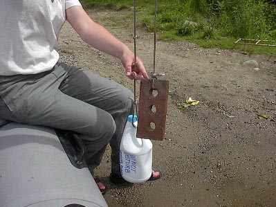 A simple marker buoy